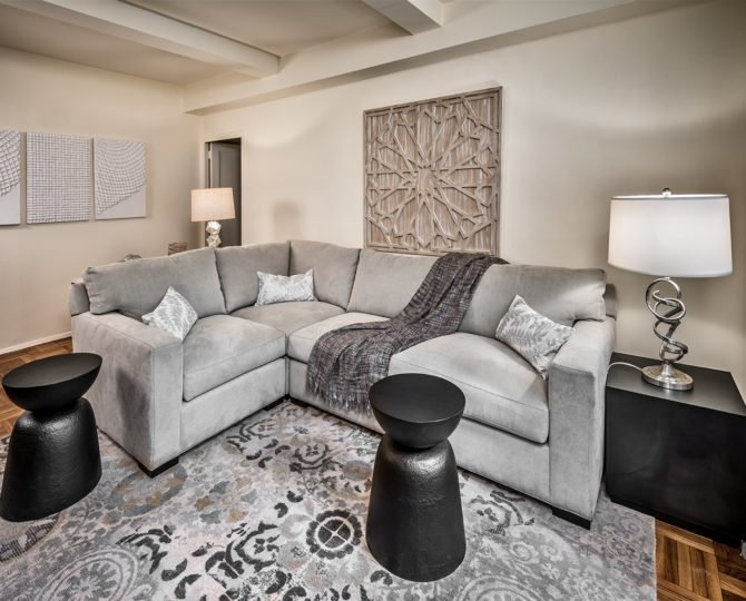 The two-bedroom Parkchester Prestige Apartment