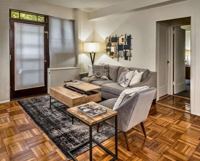 The one-bedroom Parkchester Prestige Apartment